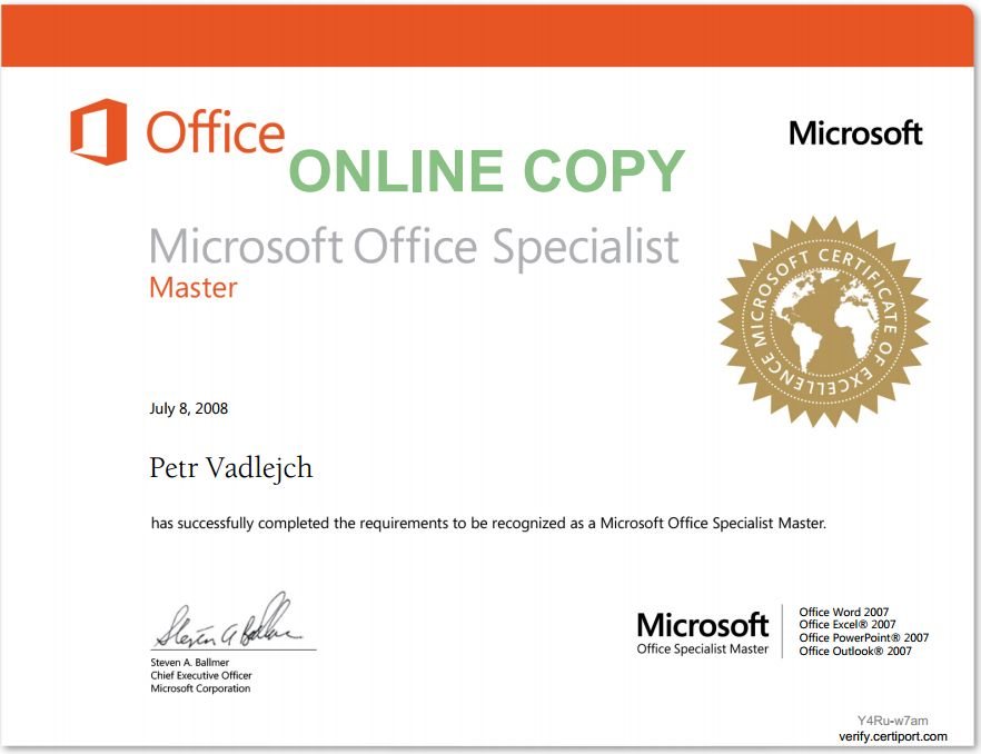 certificates  u2013 itlektor cz  u2013 ms office specialist
