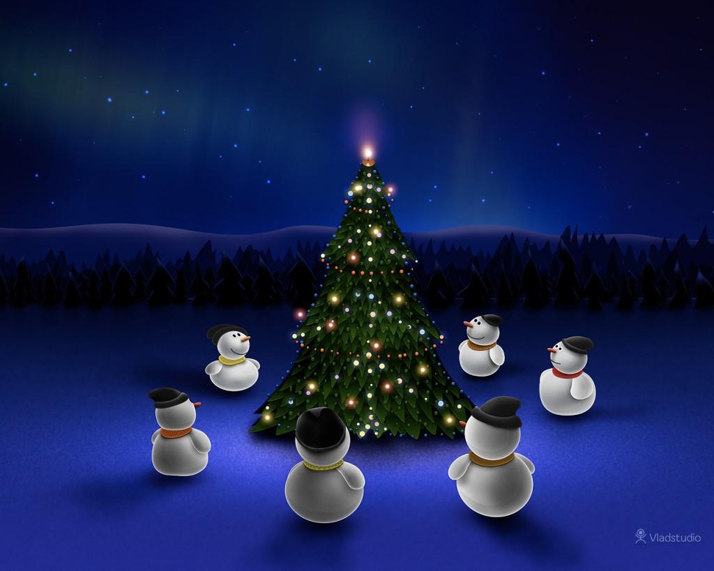 Vánoční tapeta