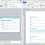21. Videotutorial – presentation from Word outline