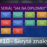 40. Videonávod – Jak na diplomky: Skryté znaky