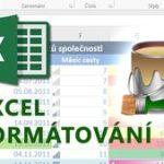 E-learning Excel – Formátování tabulek