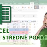 E-learning Excel – Pro středně pokročilé