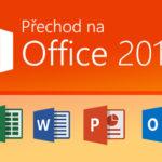 Skončila podpora Office 2007, přejďete na Office 2016
