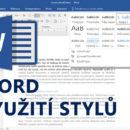 (Čeština) Online kurz Word - Využití stylů