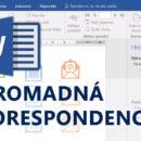 (Čeština) Online kurz Word Hromadná korespondence
