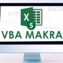 Online kurz Excel makra VBA - základy programování