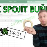 Spojení buněk v Excelu